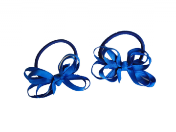 Pony Elastic Bows - Royal
